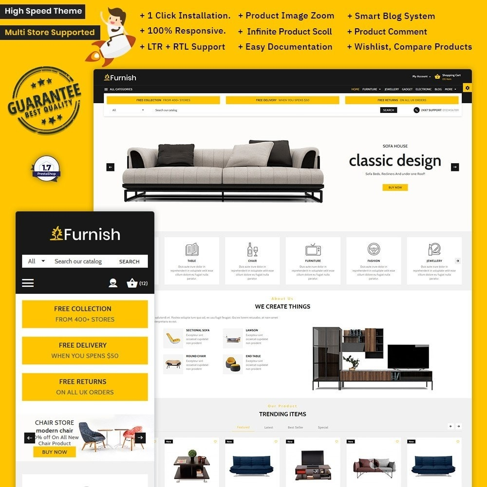 Furnish – Furniture Large Store