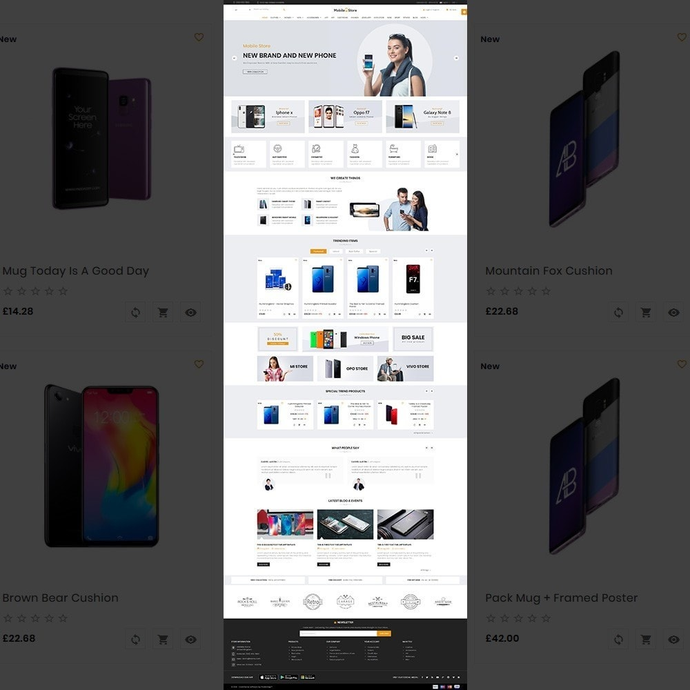 Mobile  Store – Electronic Store