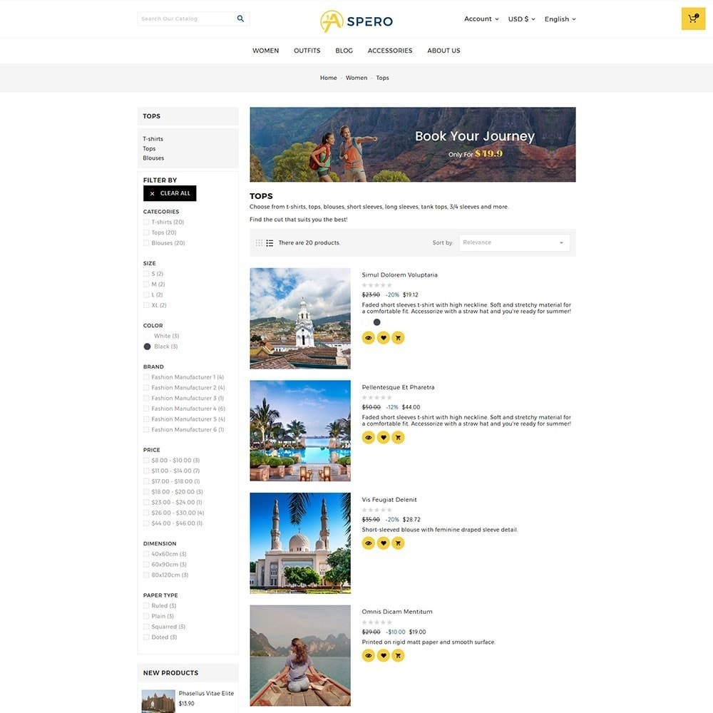 theme - Sports, Activities & Travel - Aspero Travel Store - 5