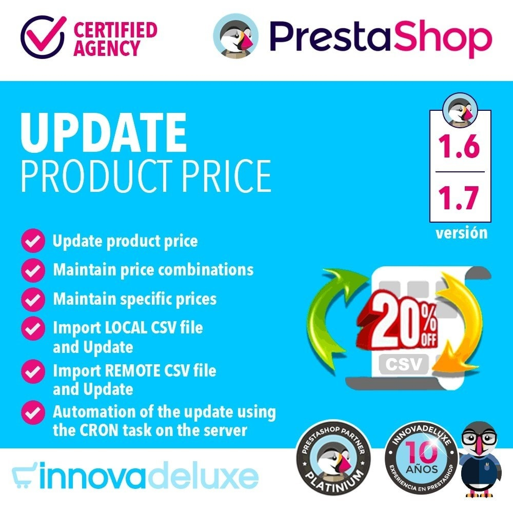 module - Fast & Mass Update - Product Price Updater - 1