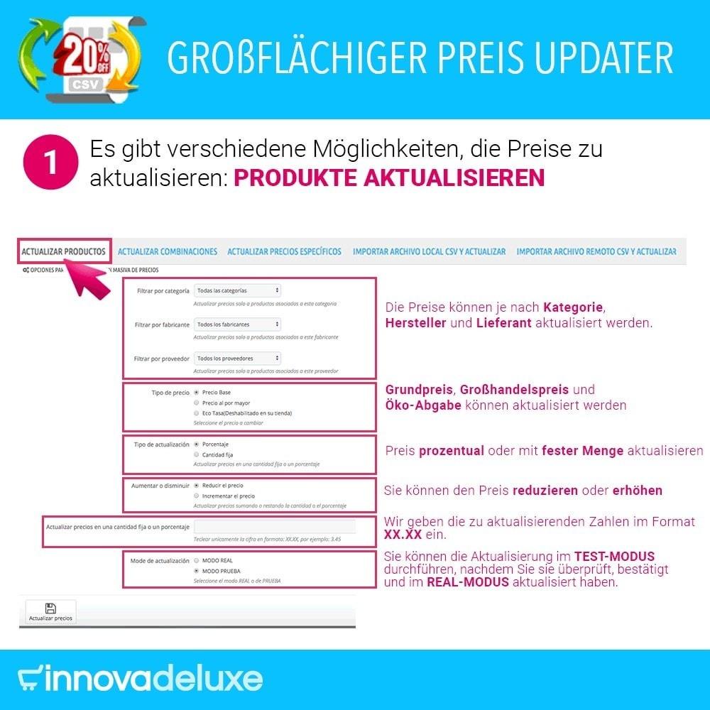 module - Quick Eingabe & Massendatenverwaltung - Massiver Preisaktualisierer - 2