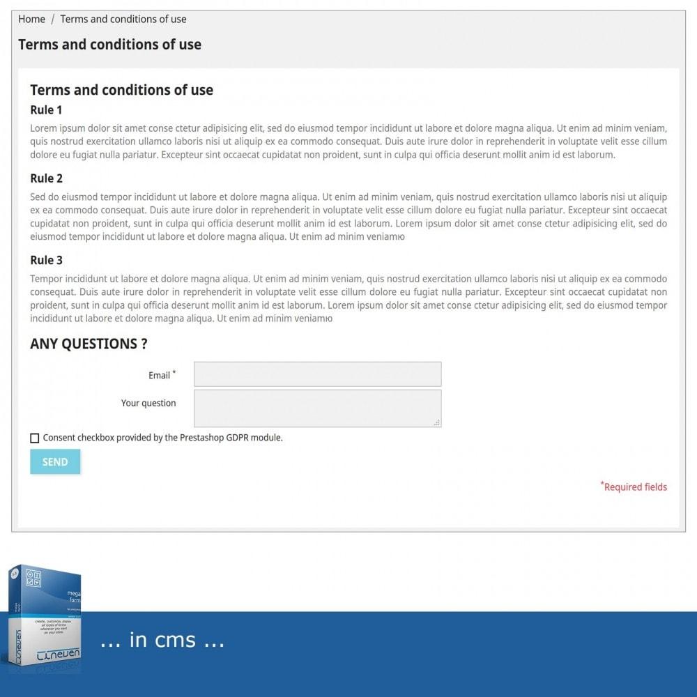 module - Formulario de contacto y Sondeos - Forms builder - Customizable & Threads - 4