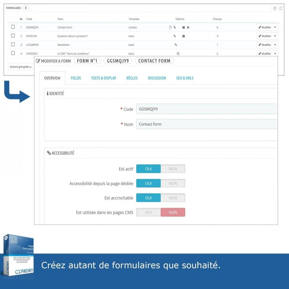 module - Formulaires de Contact & Sondages - Générateur de formulaires avancés & Fils de discussions - 10