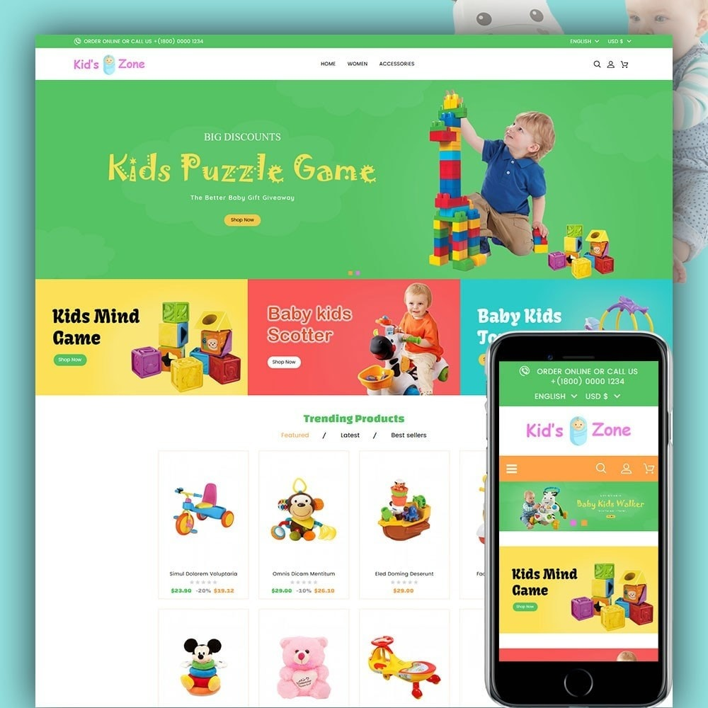 Kids World Toy Store