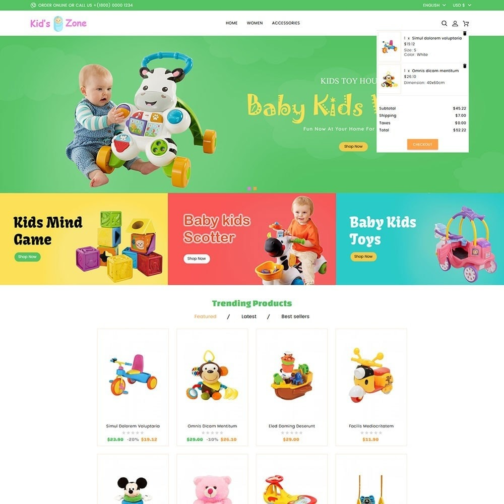 theme - Kids & Toys - Kids World Toy Store - 3