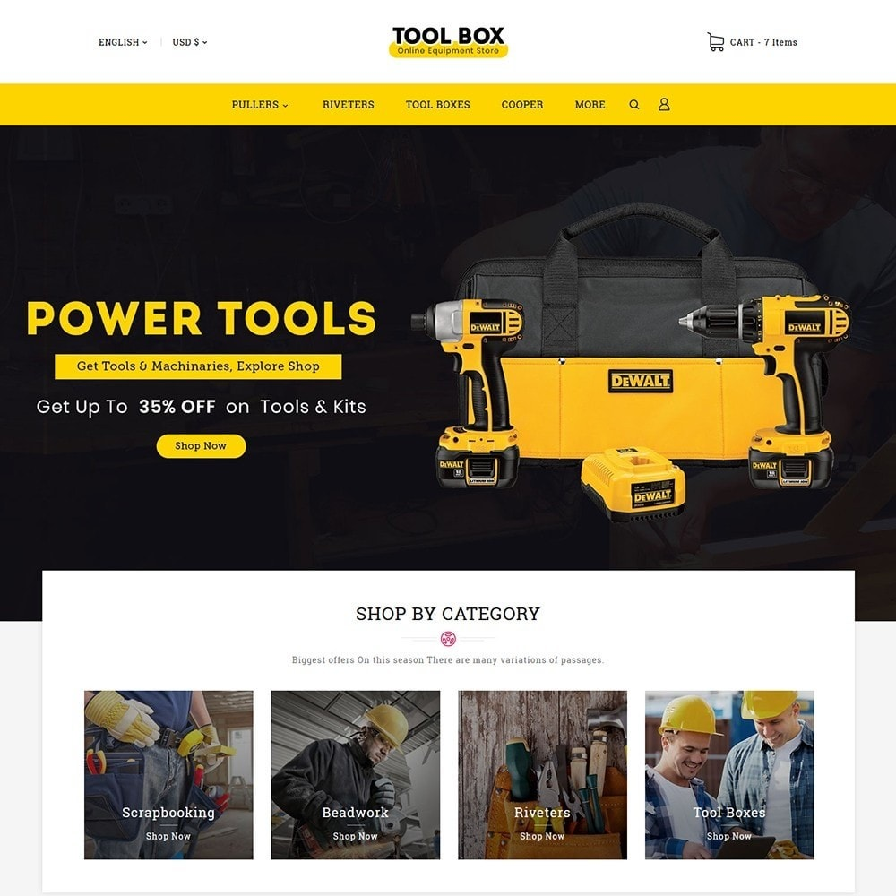 Toolbox & Equipment