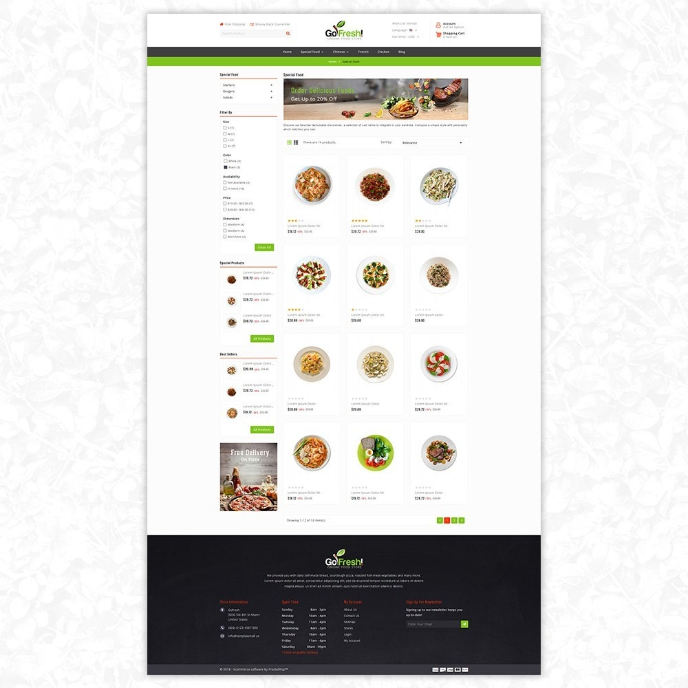 Gofresh - food store