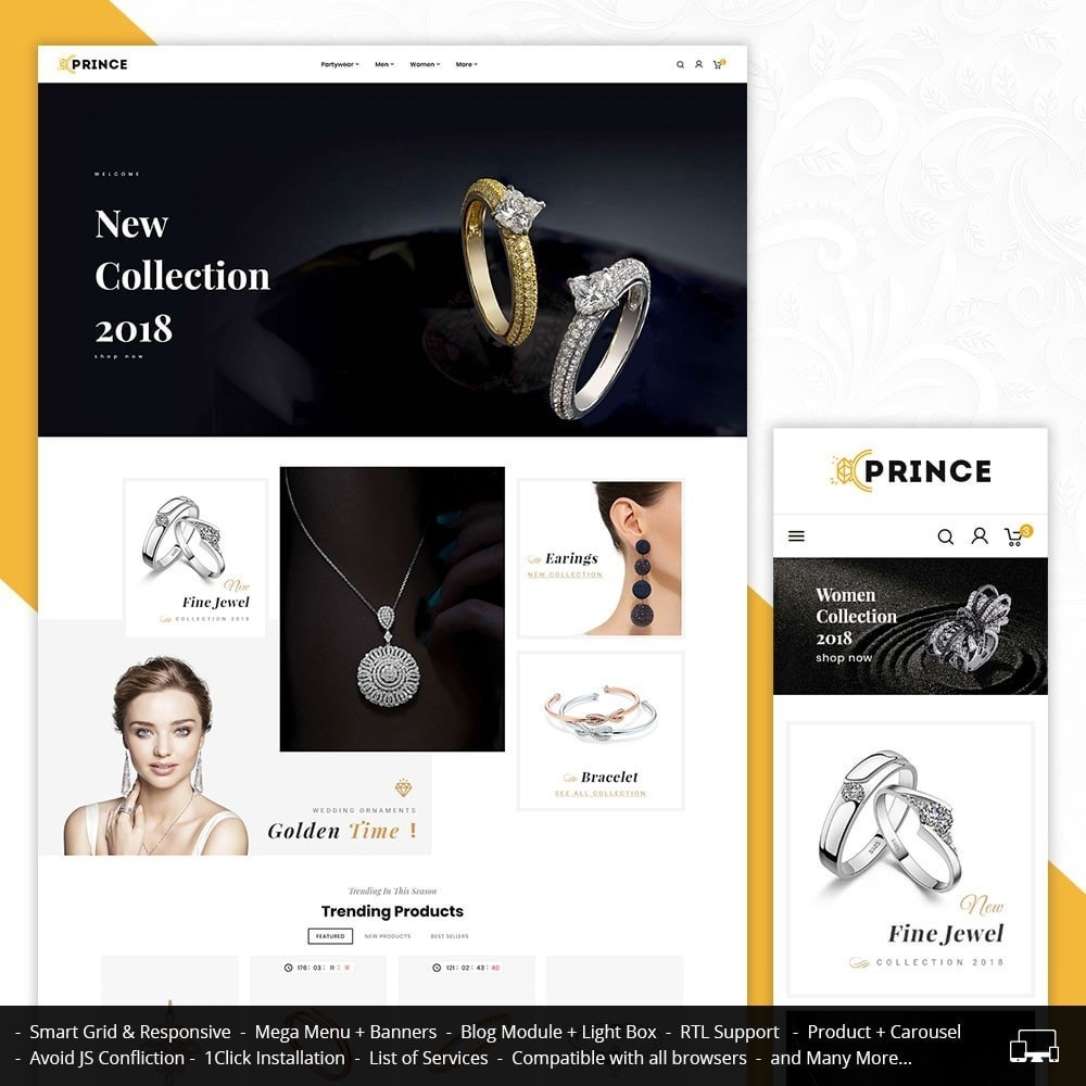 theme - Sieraden & Accessoires - Jewelry Prince/Bridal - 1