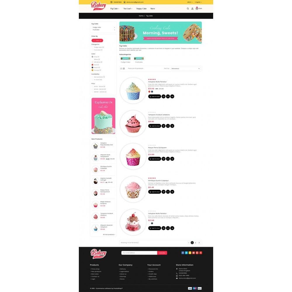theme - Подарки, Цветы и праздничные товары - Cakery - Bakery Shop - 6