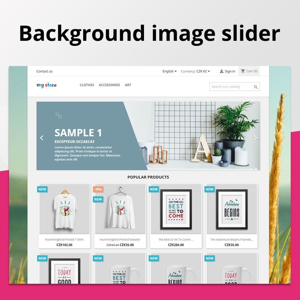 module - Slider & Gallerie - Fullscreen Background Slider - 1