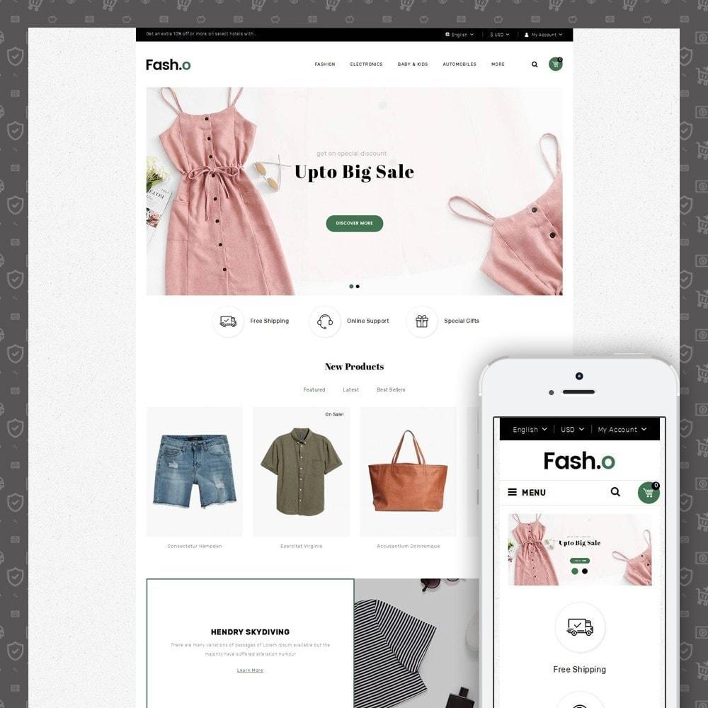 Fasho - Apparel Store