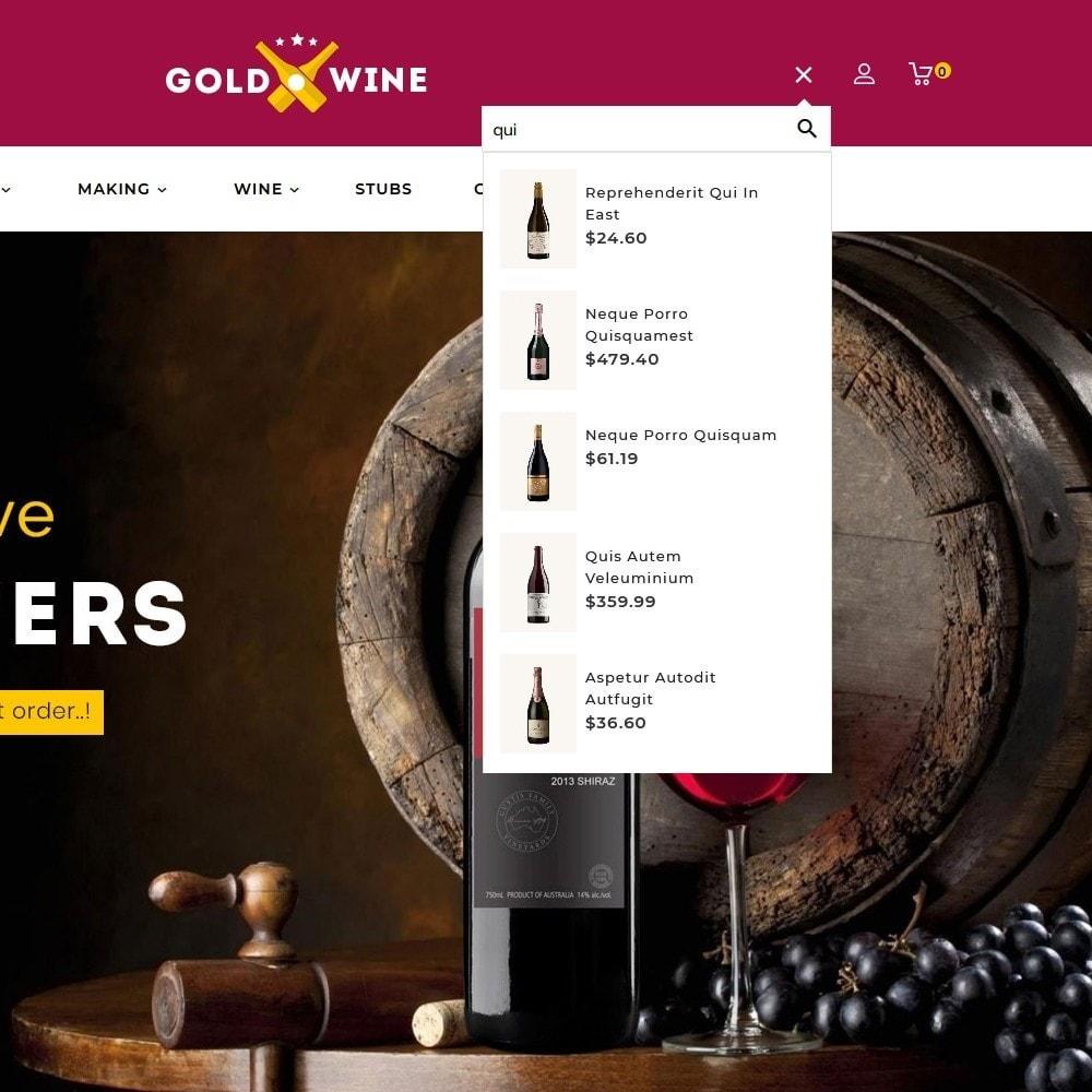 theme - Napoje & Wyroby tytoniowe - Gold Wine Store - 12