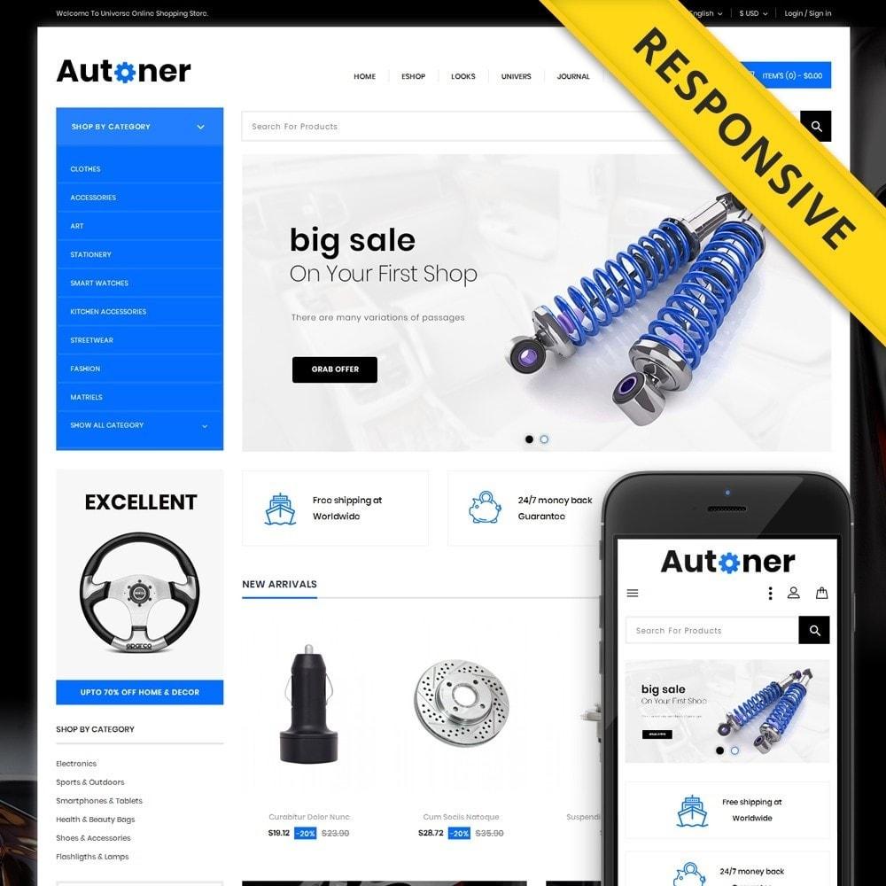 Autoner - Spare Parts Store