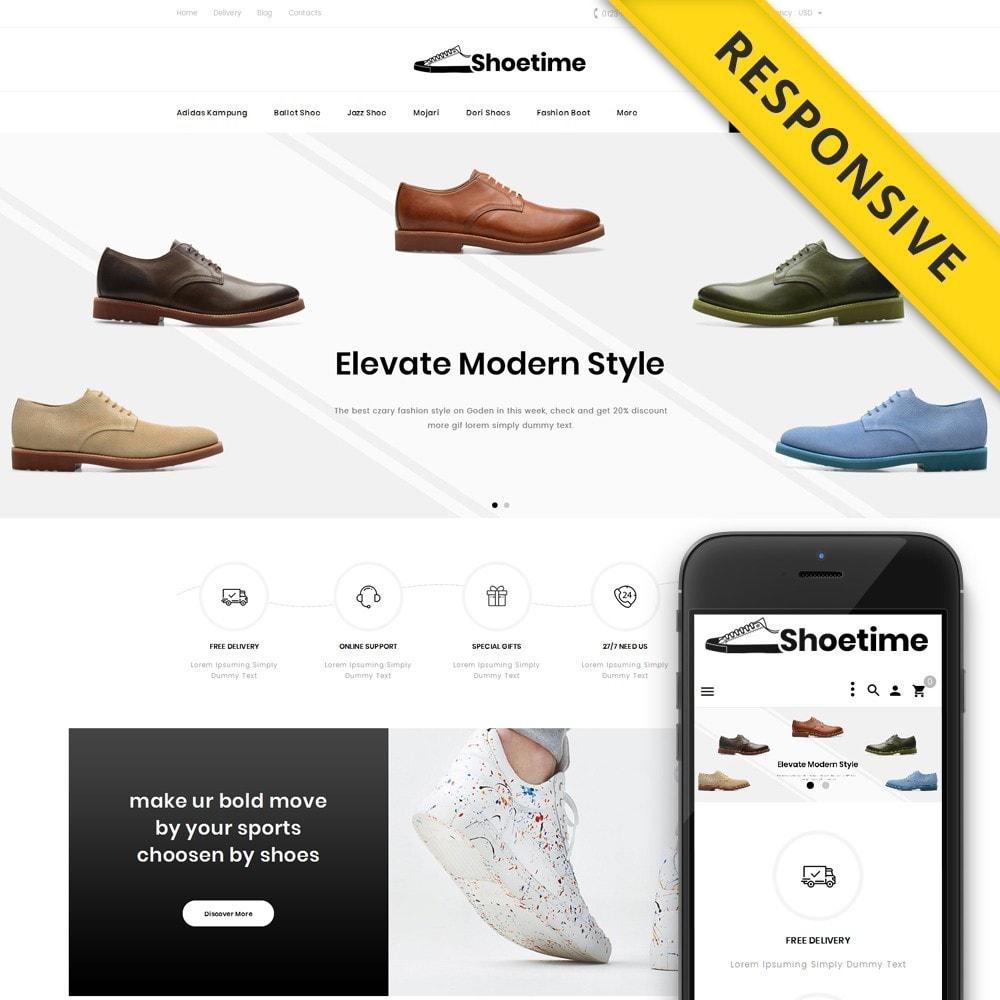 theme - Fashion & Shoes - Shoetime - Fashion Accessories Store - 1