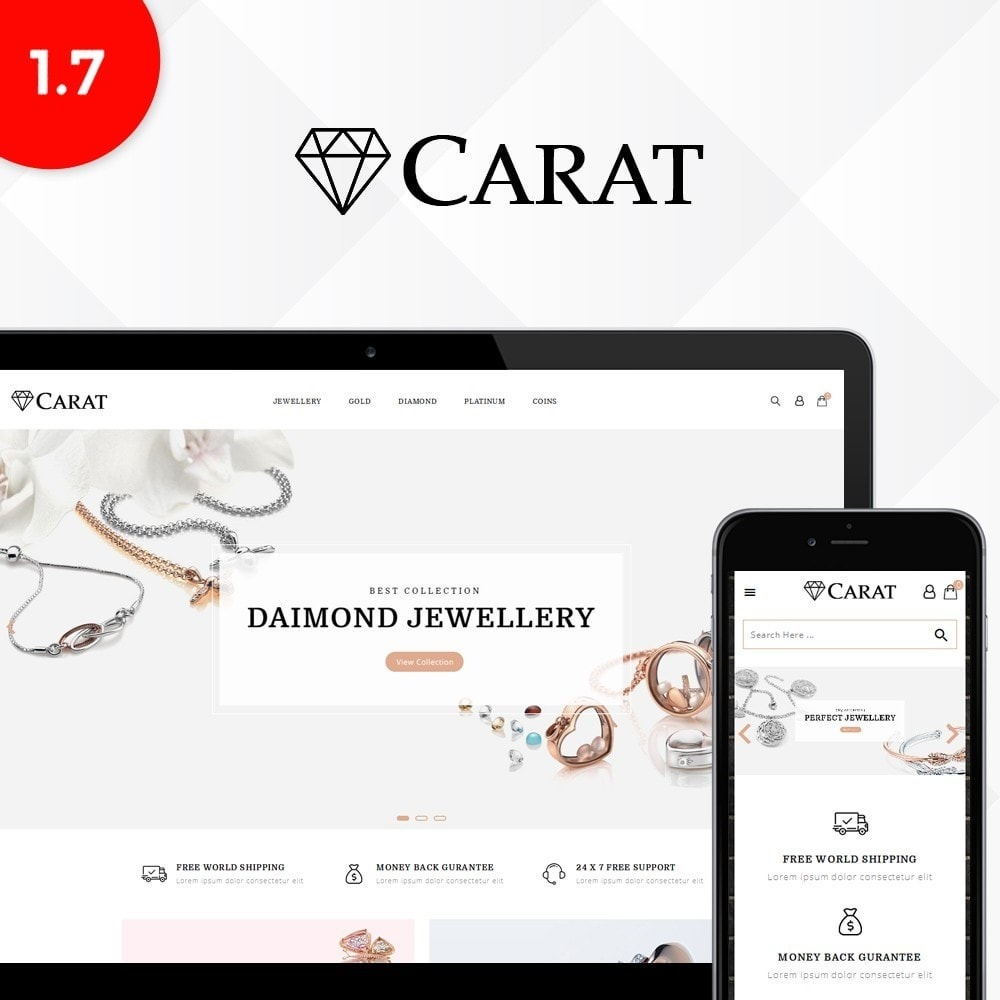 theme - Jewelry & Accessories - Caret Store - 1