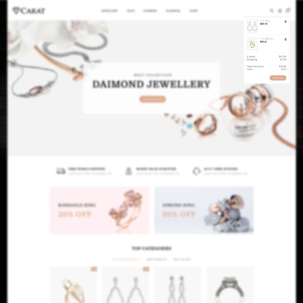 theme - Jewelry & Accessories - Caret Store - 8