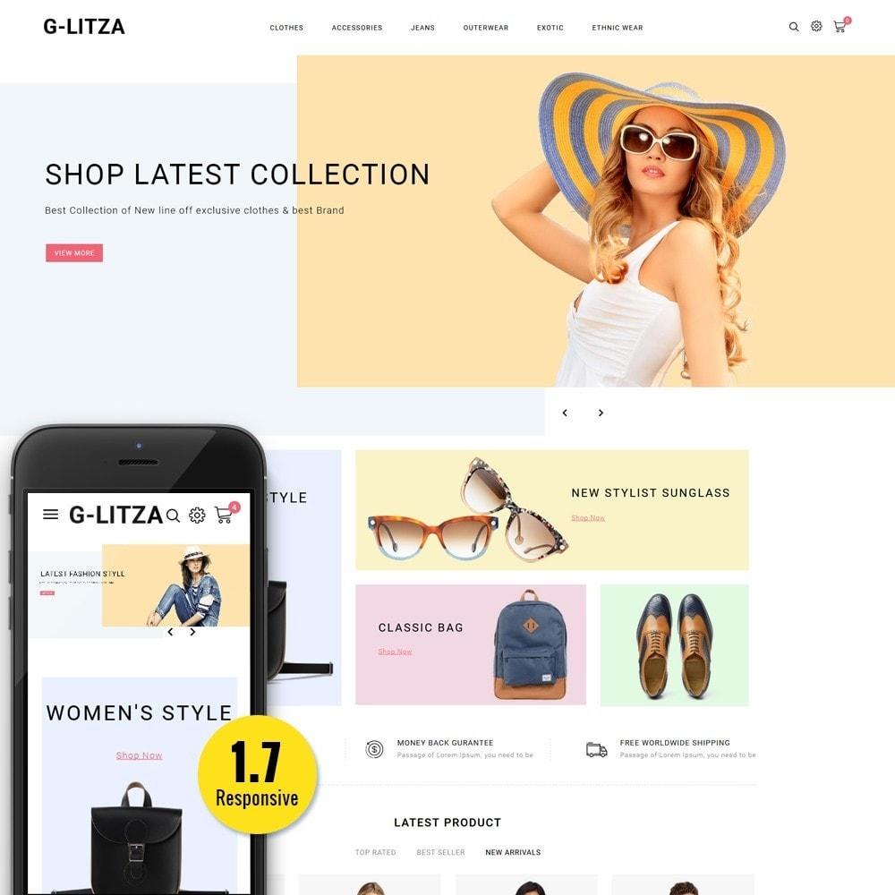 theme - Fashion & Shoes - G-Litza Fashion Store - 1