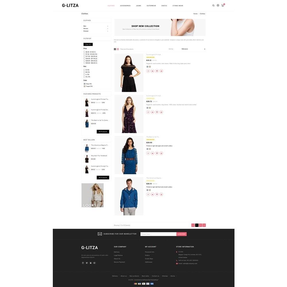 theme - Fashion & Shoes - G-Litza Fashion Store - 4