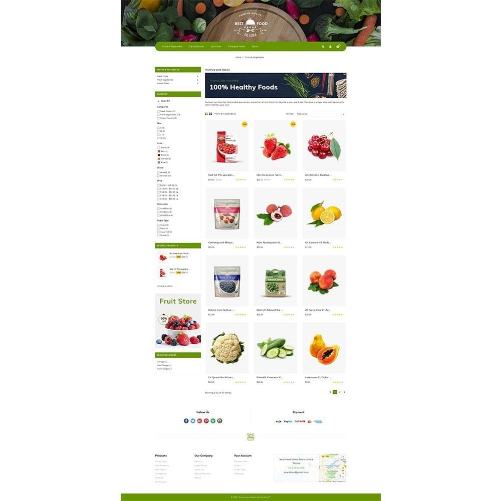theme - Alimentos & Restaurantes - Best Food Store - 3