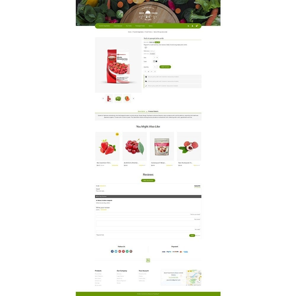 theme - Alimentos & Restaurantes - Best Food Store - 5