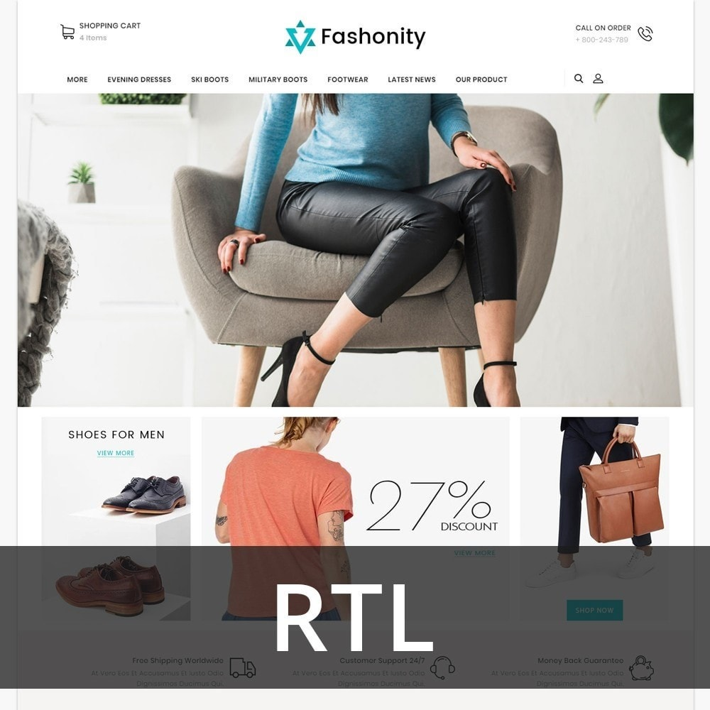 Fashionity - The Clothes Store