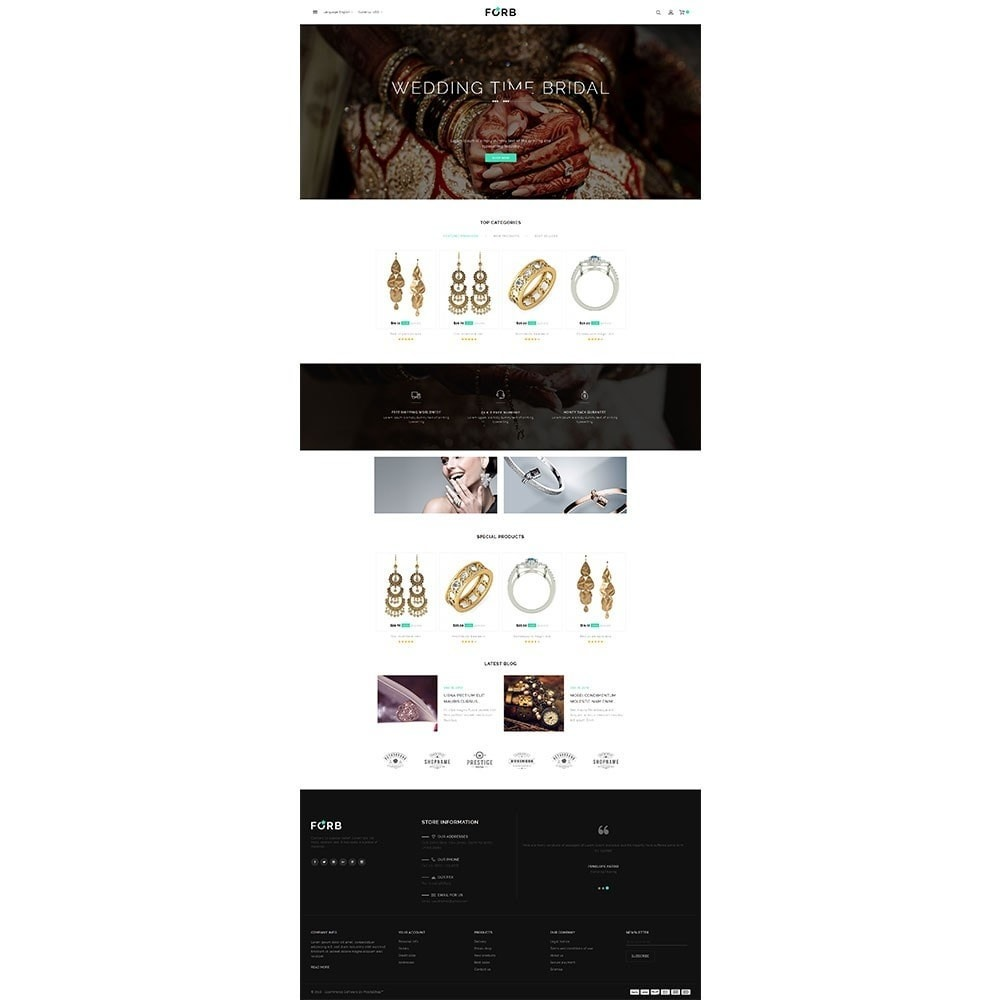 theme - Jewelry & Accessories - Forb Store - 2