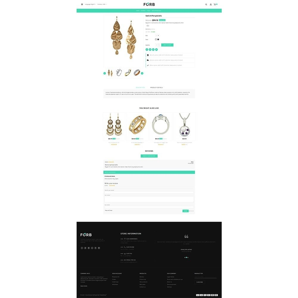theme - Jewelry & Accessories - Forb Store - 5