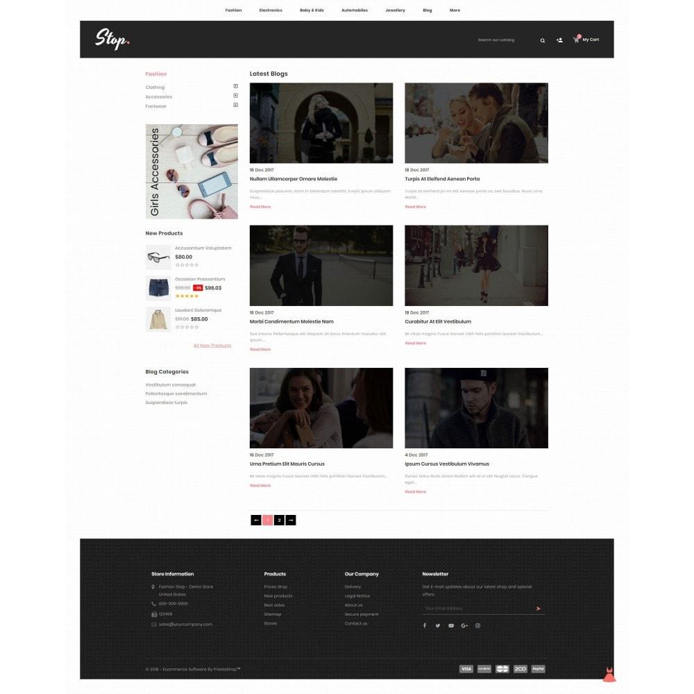 theme - Fashion & Shoes - Fashion Stop - 9