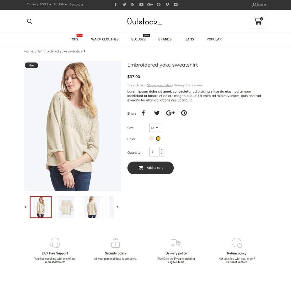 theme - Fashion & Shoes - Outstock Fashion Store - 5