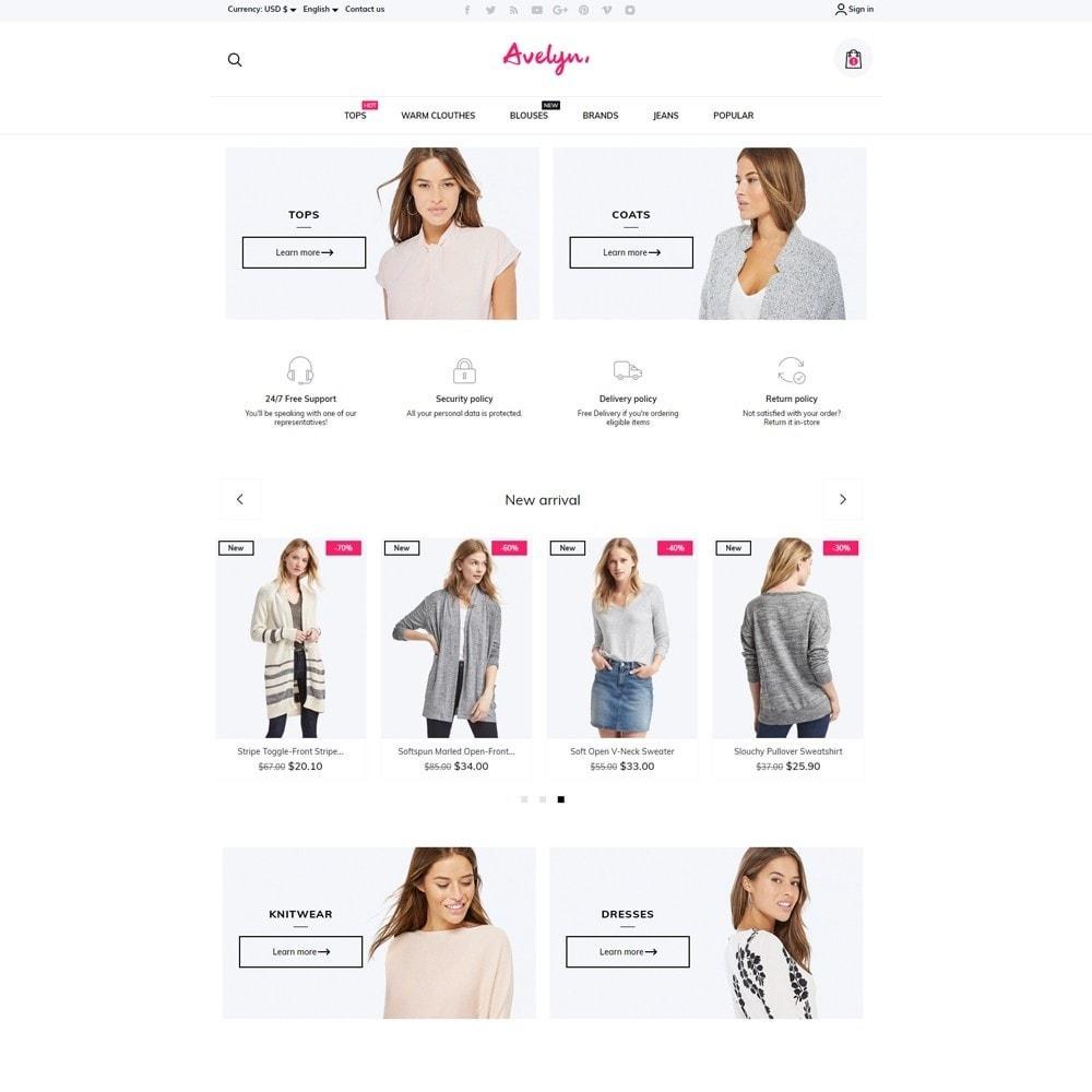 theme - Fashion & Shoes - Avelyn Fashion Store - 2