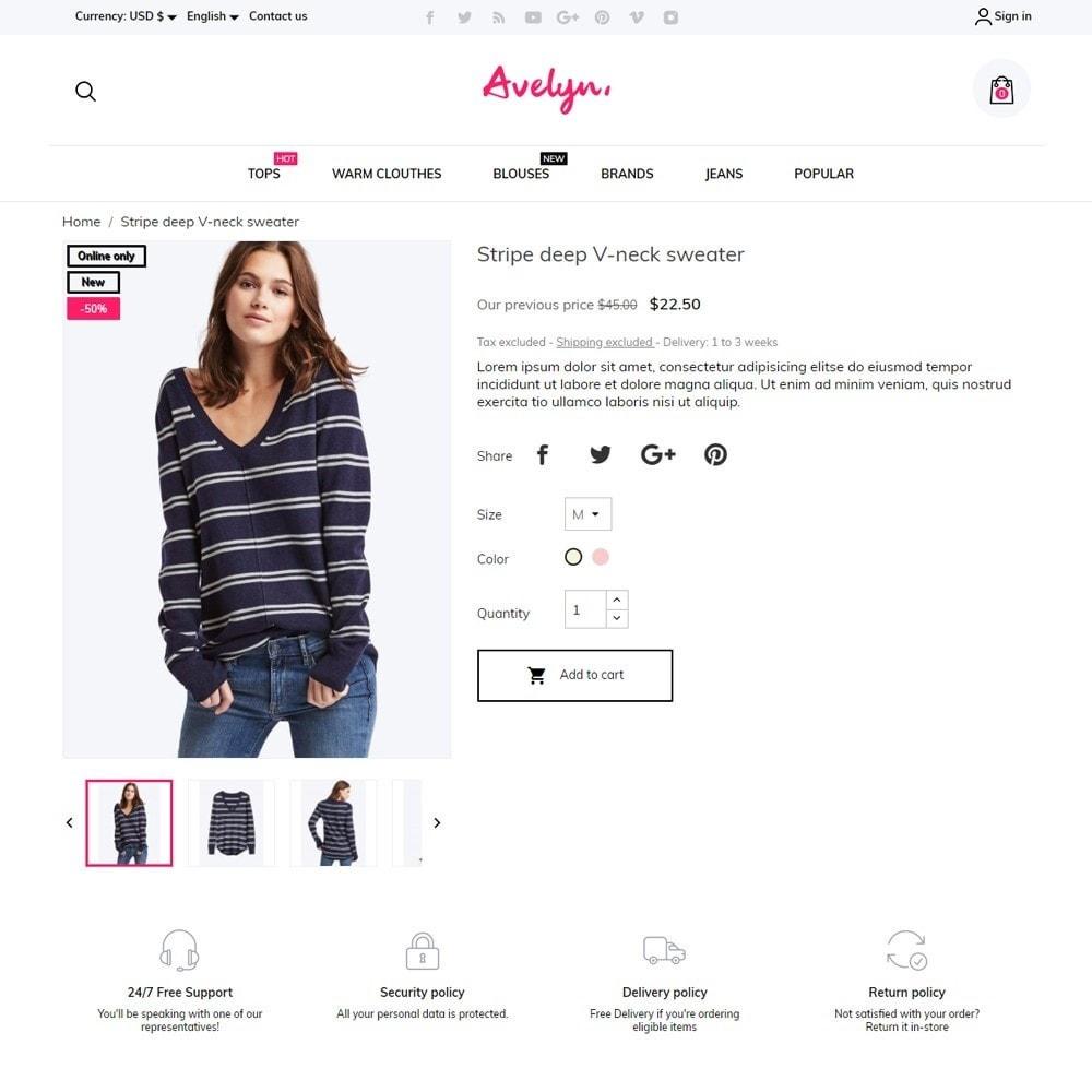 theme - Fashion & Shoes - Avelyn Fashion Store - 5