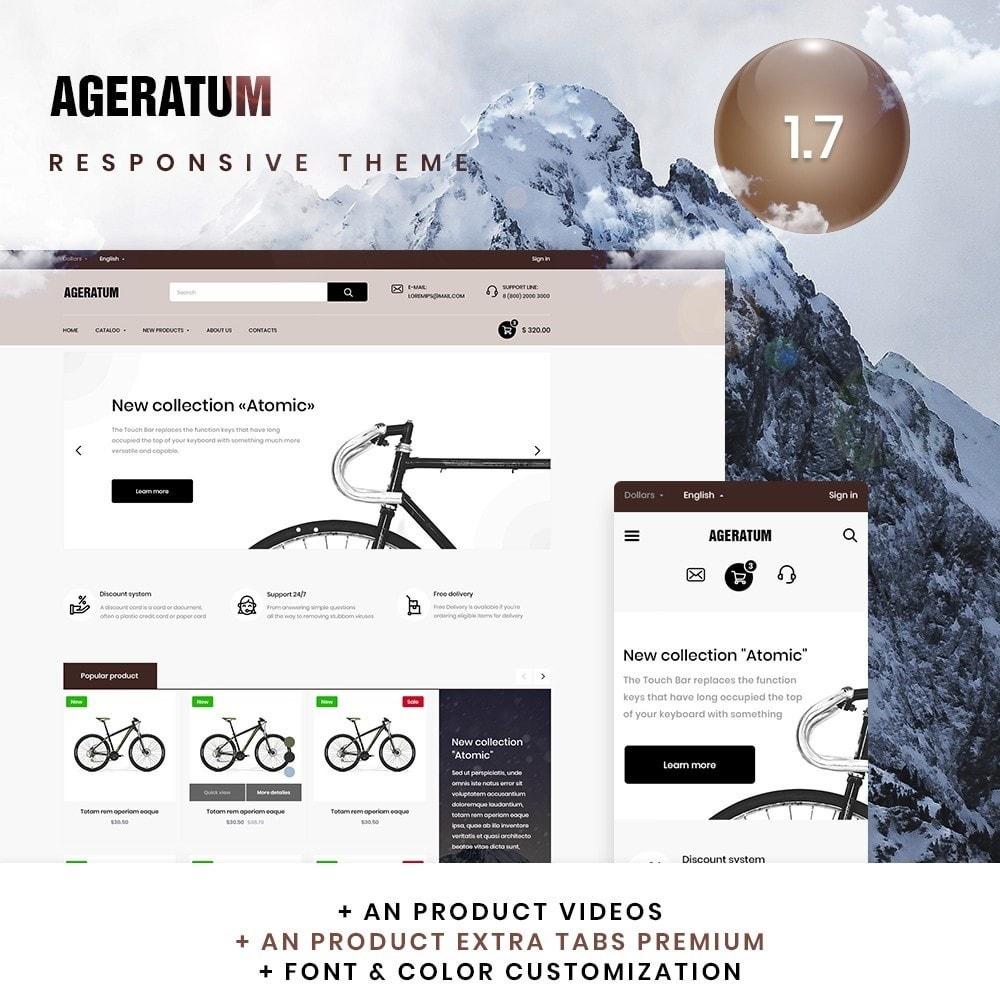 theme - Sports, Activities & Travel - Agerantum - 1