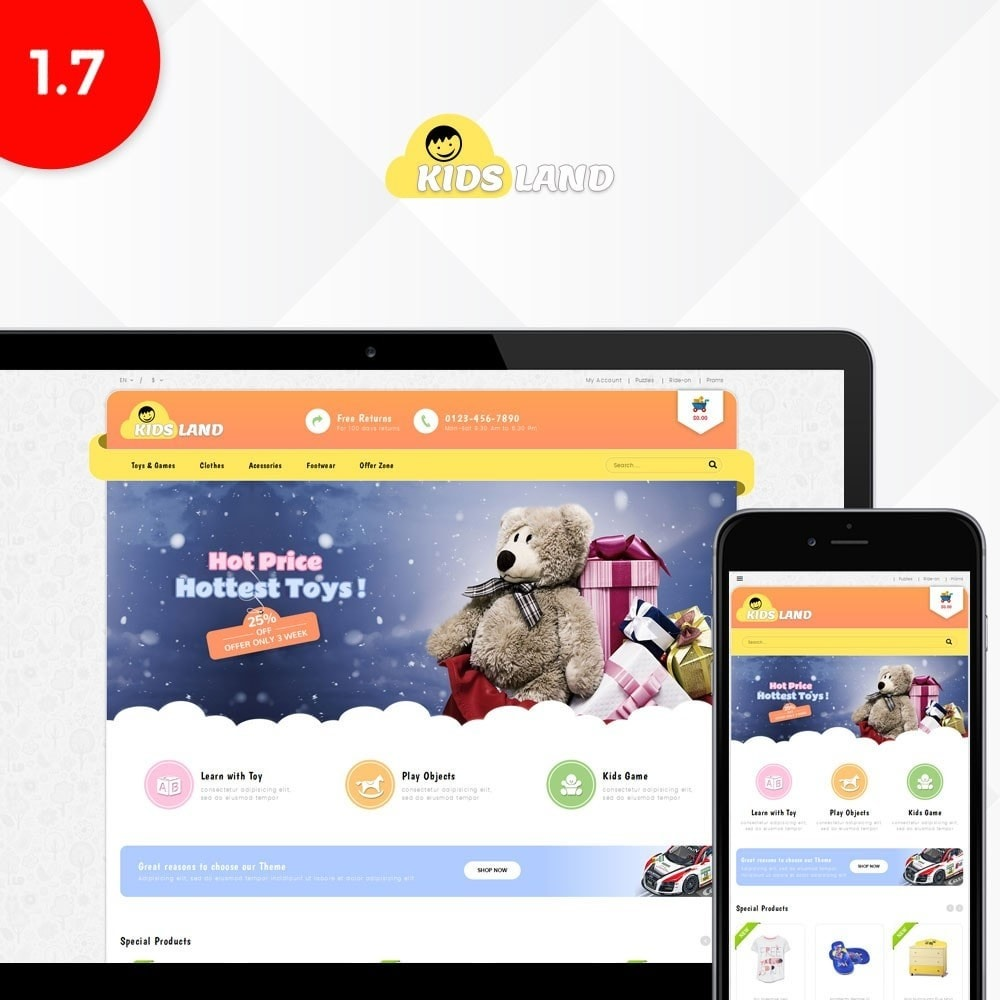 theme - Bambini & Giocattoli - Kidsland Store - 1