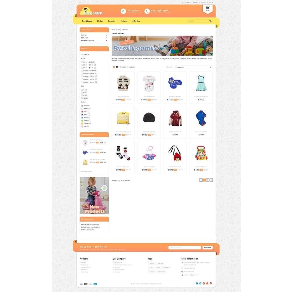 theme - Bambini & Giocattoli - Kidsland Store - 3