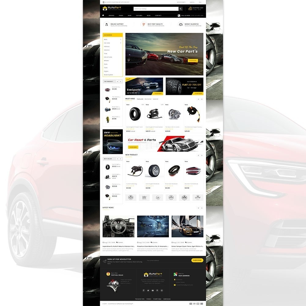 Autopart - Cars & Automotive Store