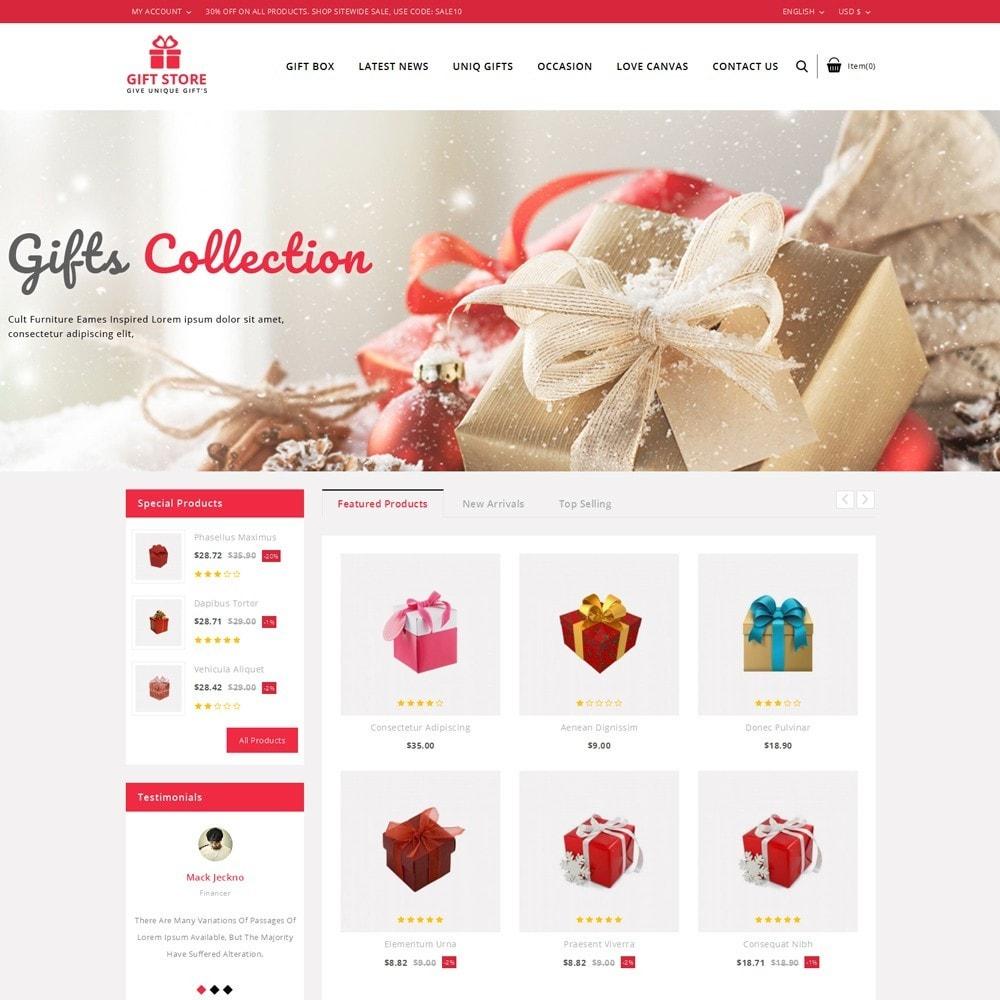 theme - Cadeaux, Fleurs et Fêtes - Giftstore - The Gift Shop - 2