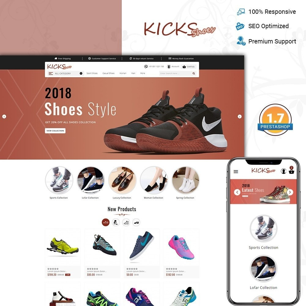 Kick Shoes Store
