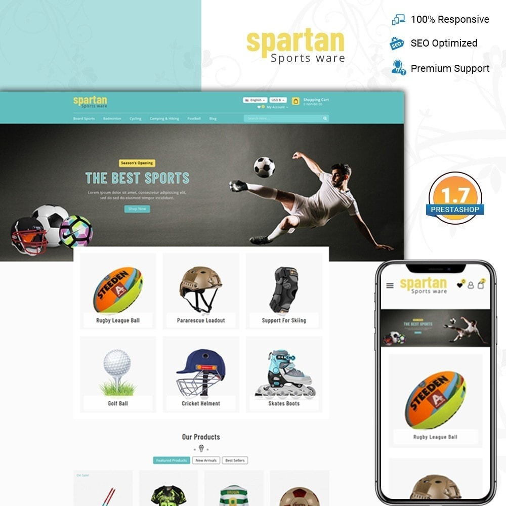 Spartan Sports Store