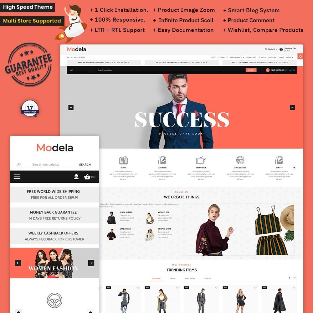 Modela – Fashion  Mega Store