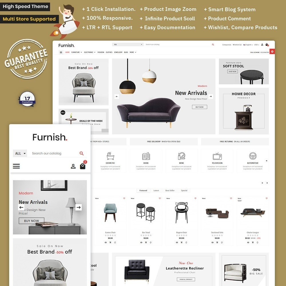 Furnish - Furniture Mega Store