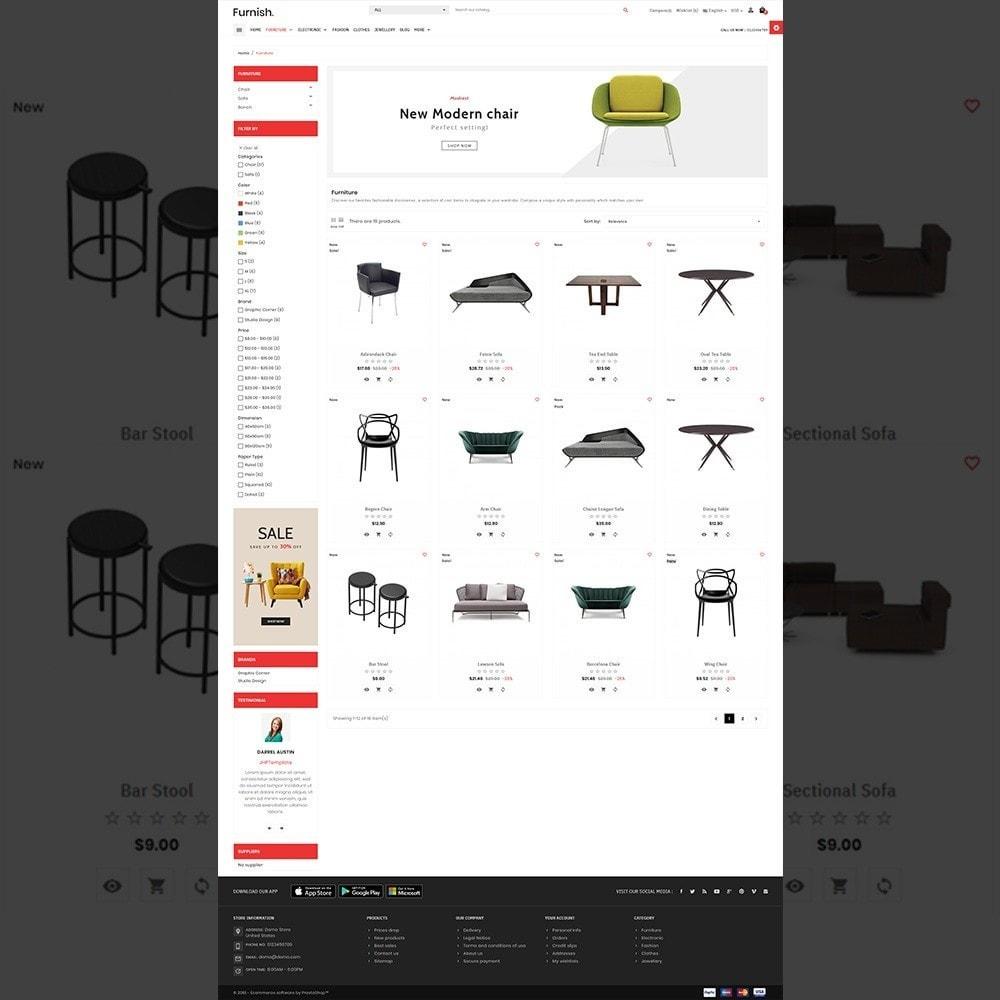 theme - Home & Garden - Furnish – Furniture Mega Store - 5