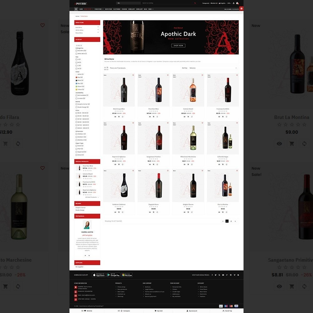 Apothic– Wine Mega Shop