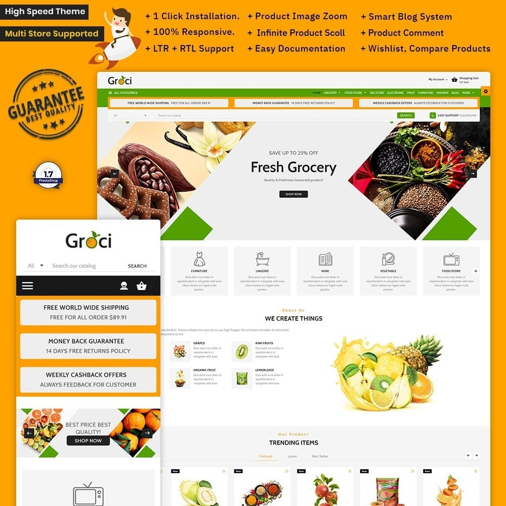 theme - Health & Beauty - Groce – The Grocery Store - 1