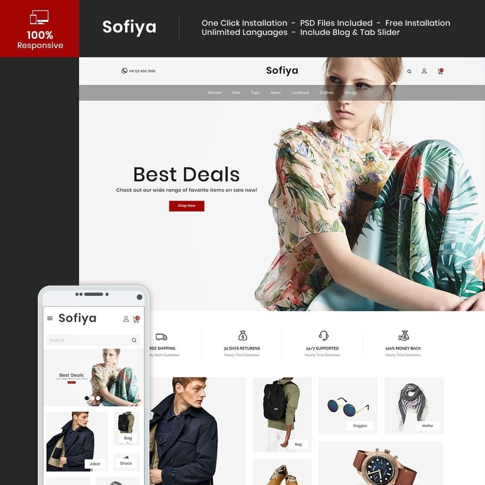 Sofiya - Fashion Store