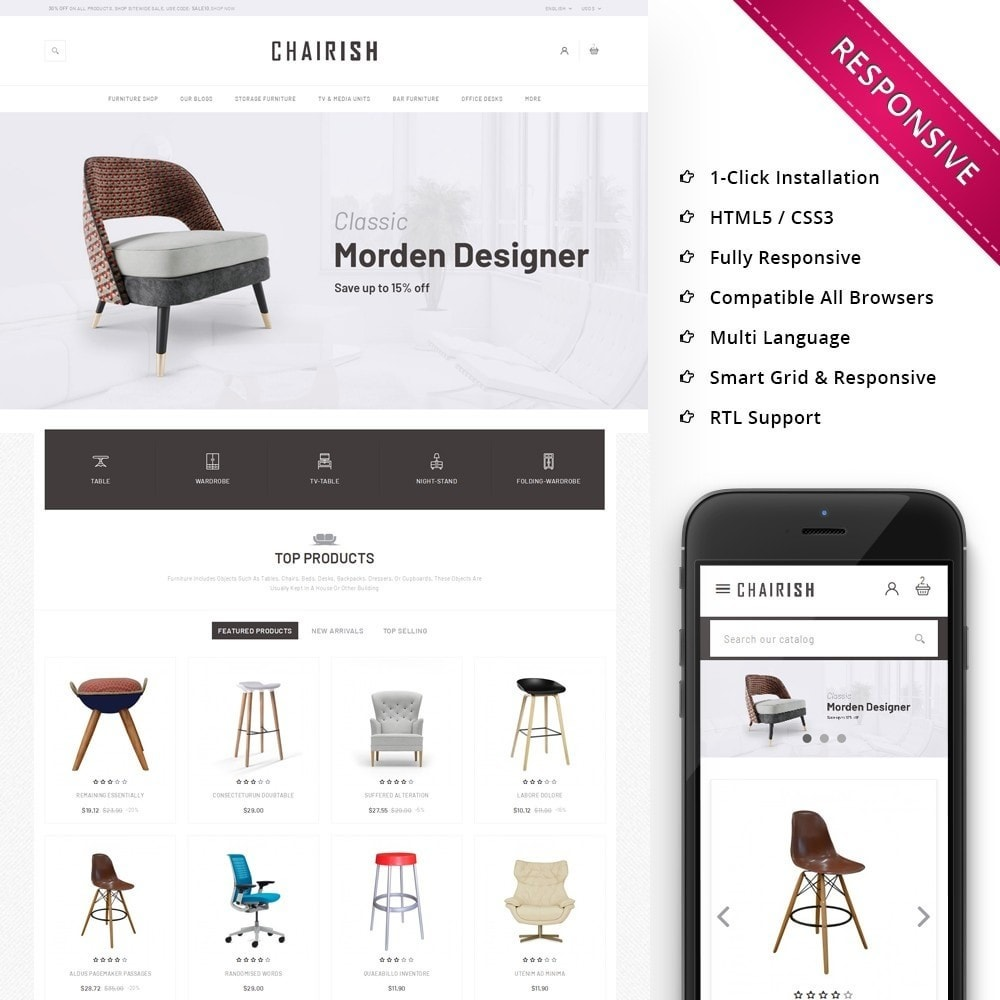 theme - Home & Garden - Chairish - The Furniture Store - 1