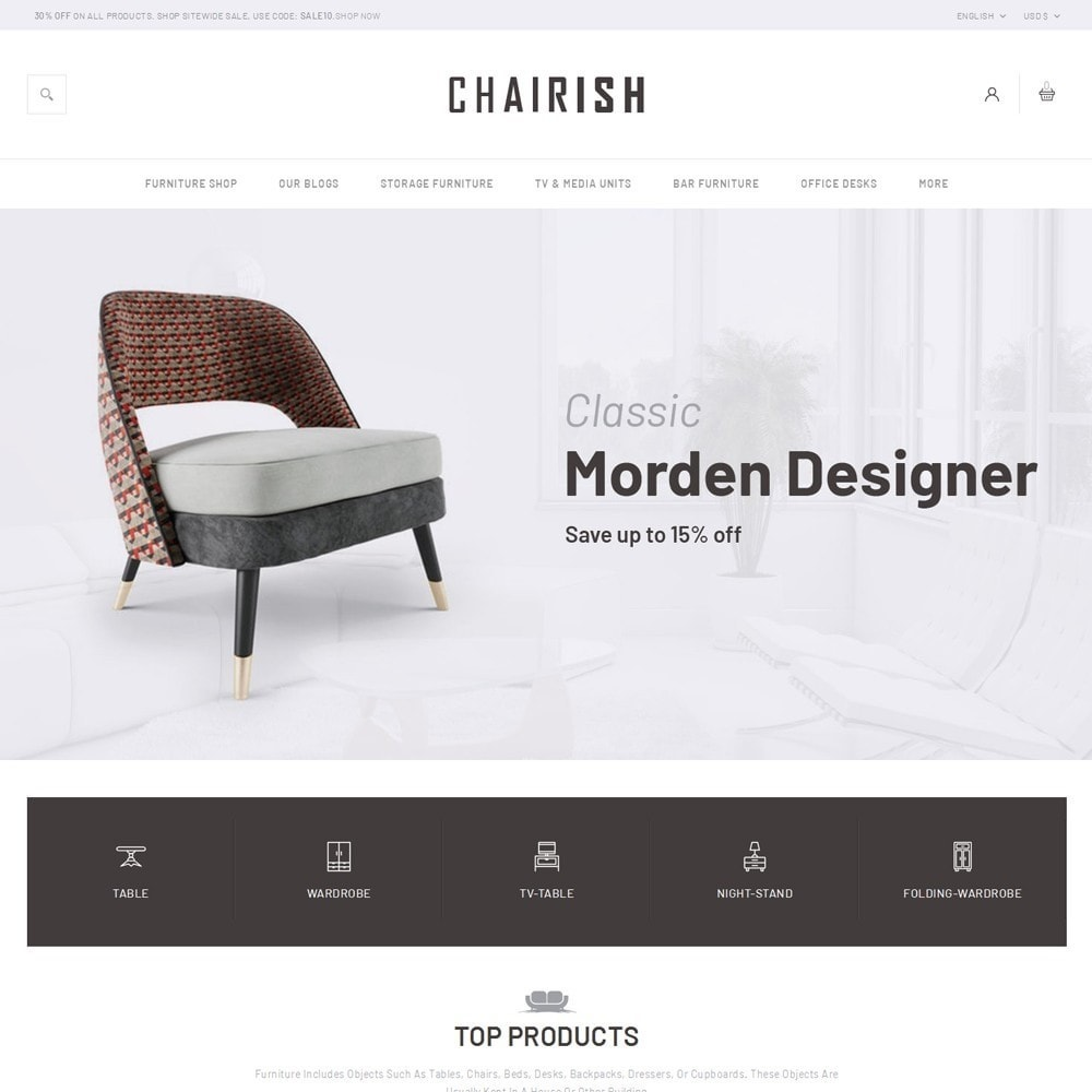 theme - Home & Garden - Chairish - The Furniture Store - 2