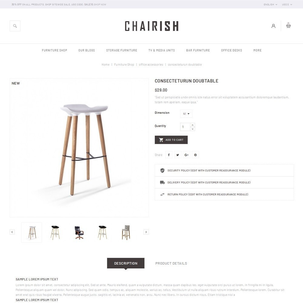 theme - Home & Garden - Chairish - The Furniture Store - 6