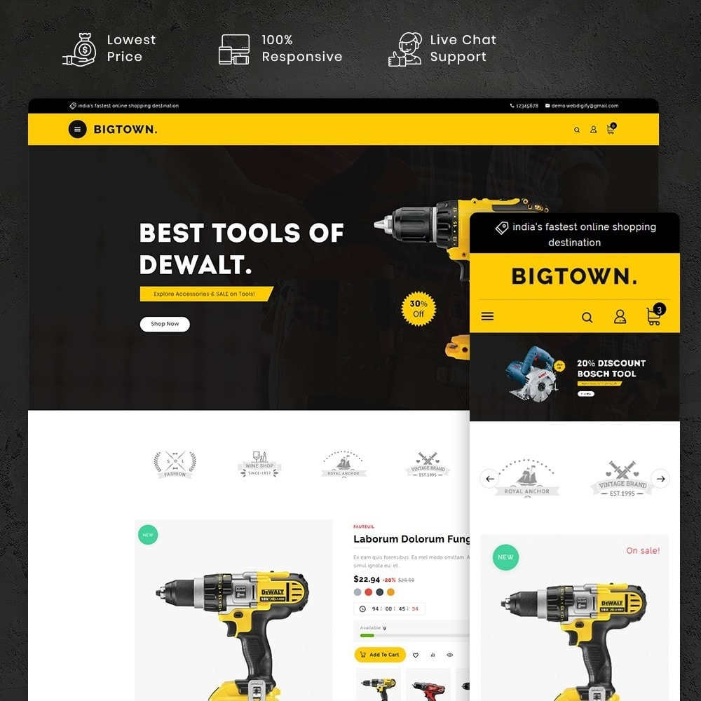 BigTown Tools Equipment