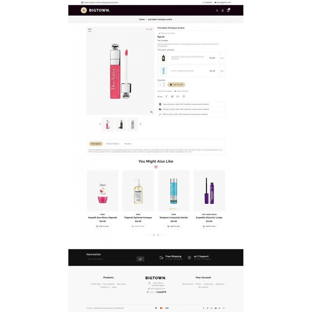 theme - Health & Beauty - BigTown Beauty Cosmetics - 5
