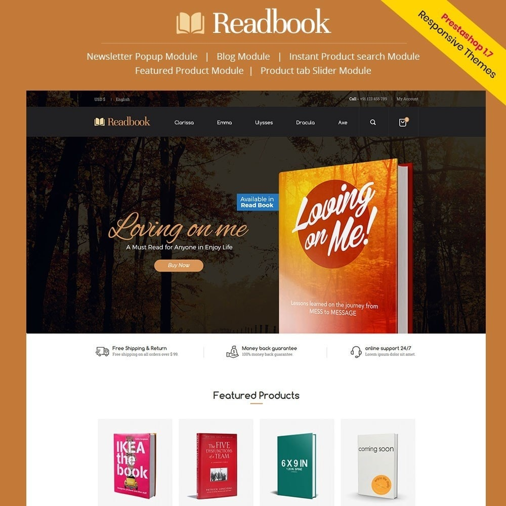 theme - Arte e Cultura - Readbook - Book Store - 1